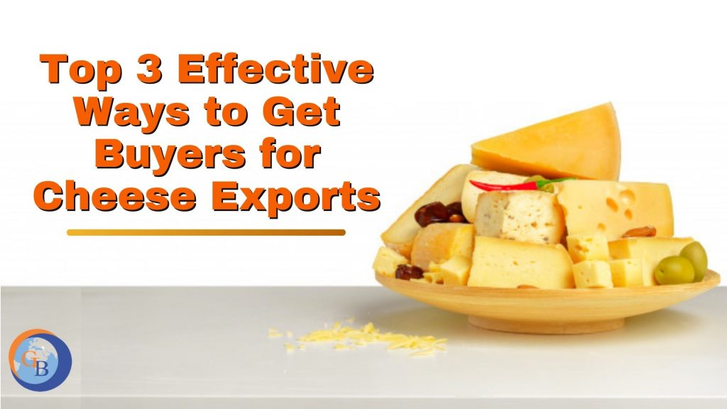 Get buyers for cheese in wholesale