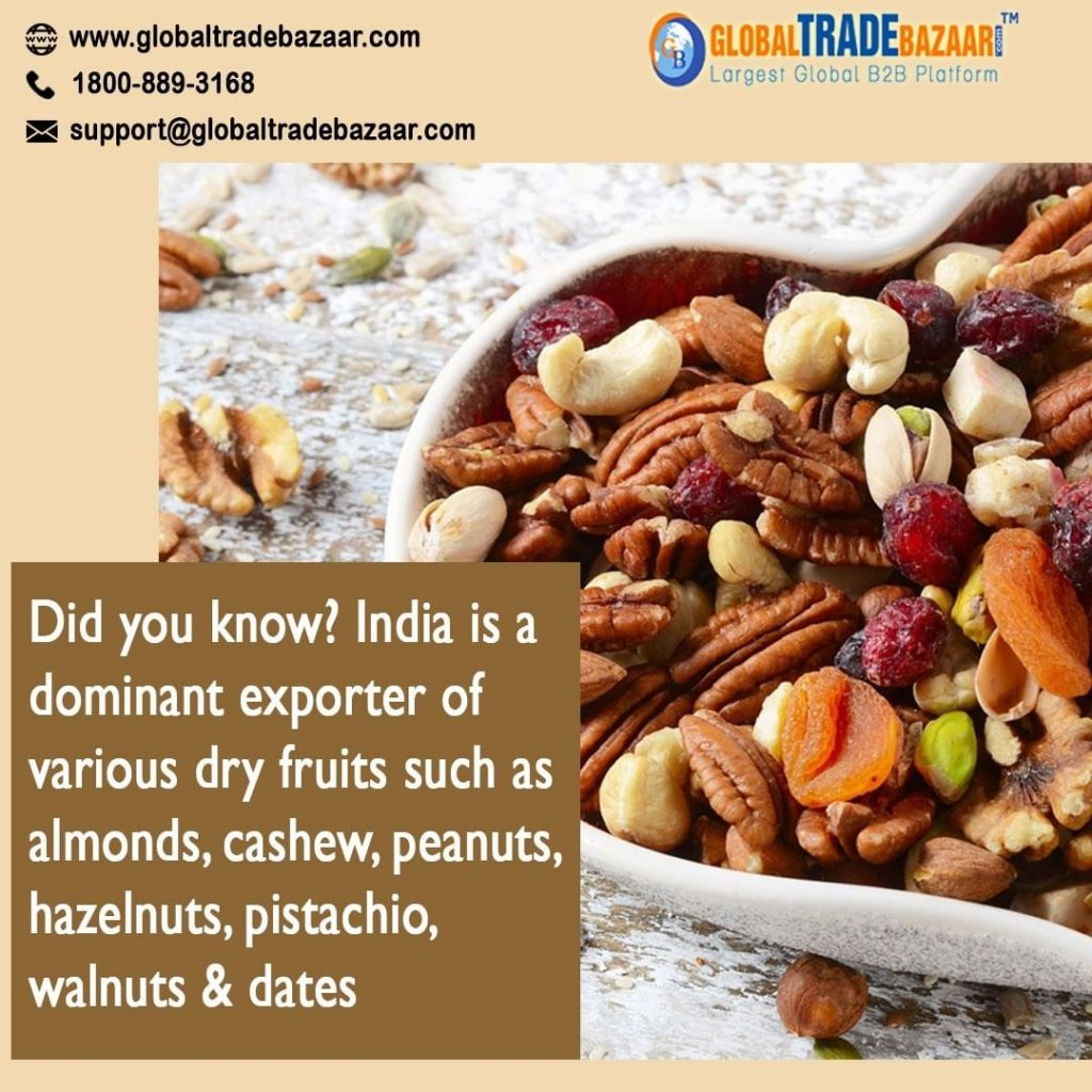 get buyers for dry fruits business